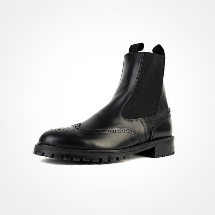 89615 윙팁 첼시부츠 (Black)
