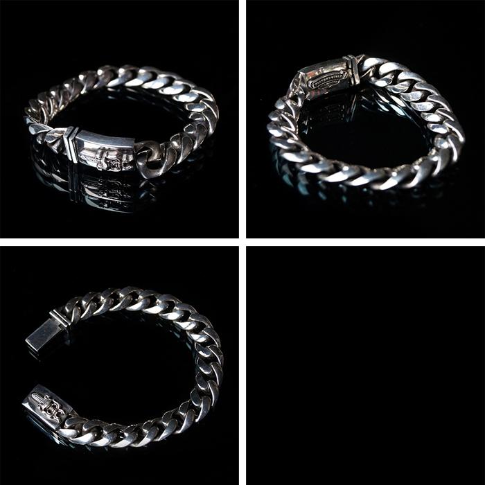 94022 CH 엔틱 나이프 레귤러 체인 팔찌 (Silver)