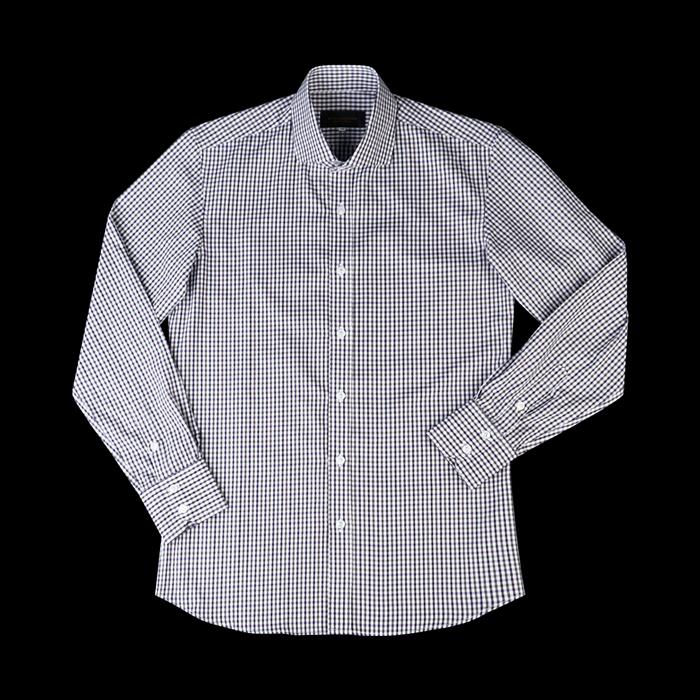 94680 No.27-B 프리미엄 체크 셔츠 (Purple)
