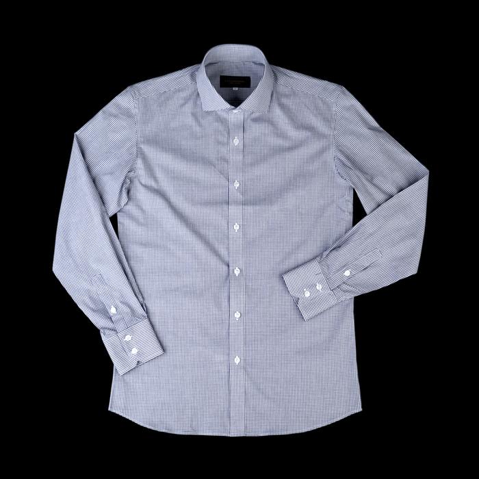 94684 No.23-B 프리미엄 잔체크 셔츠 (3Color)