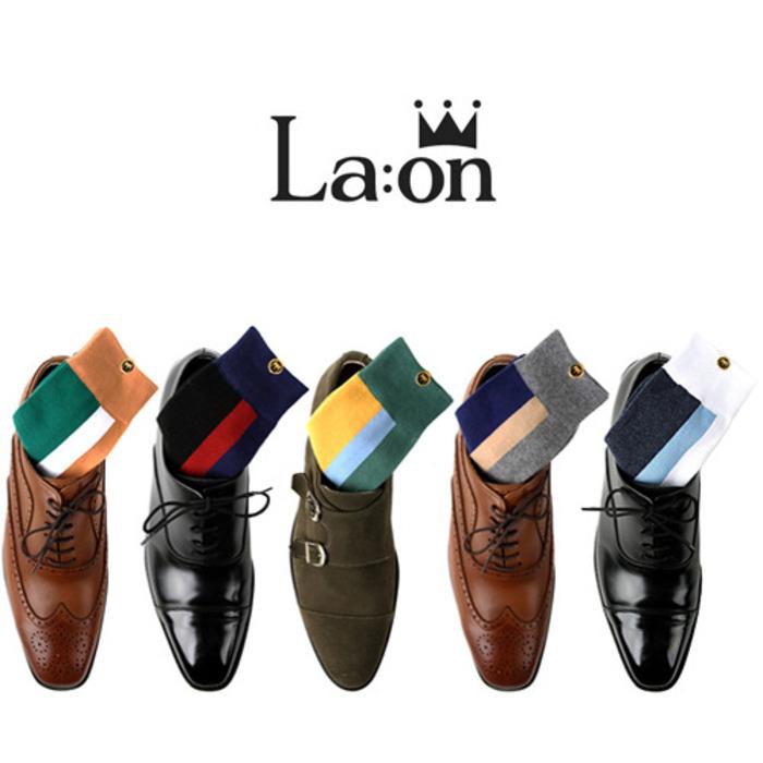 -La:on-89101 National Flag Socks (5Type)