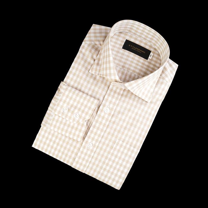 89839 TOM 깅엄체크 프리미엄 셔츠 (2Color)