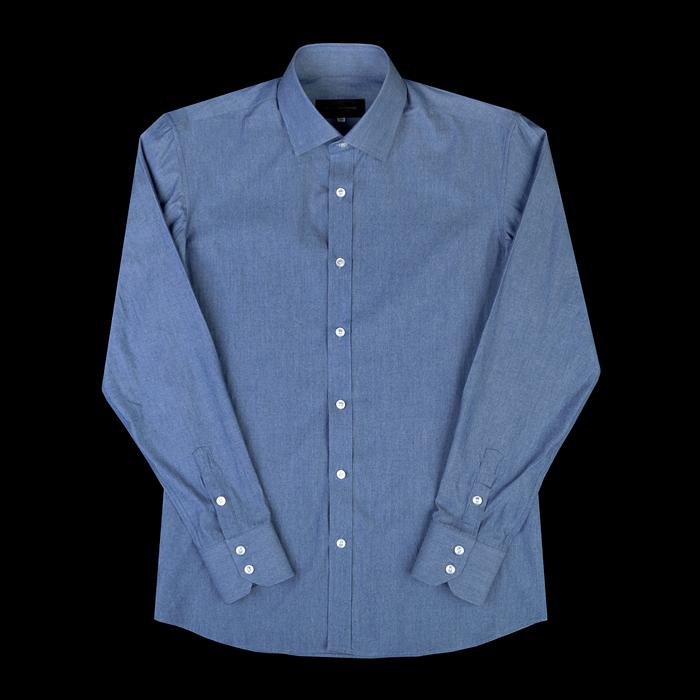 96656 프리미엄 모던 셔츠 (Blue)