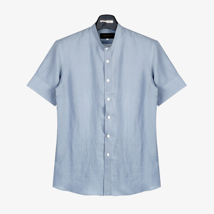 98005 No.59-b 린넨 1/2 셔츠 (11Color)