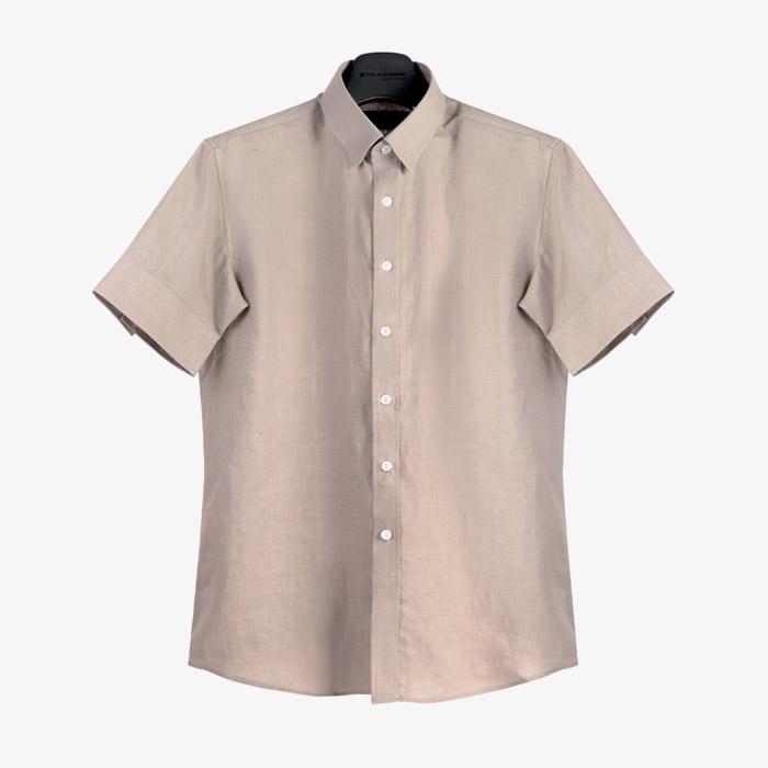 98006 No.60-b 린넨 1/2 셔츠 (11Color)