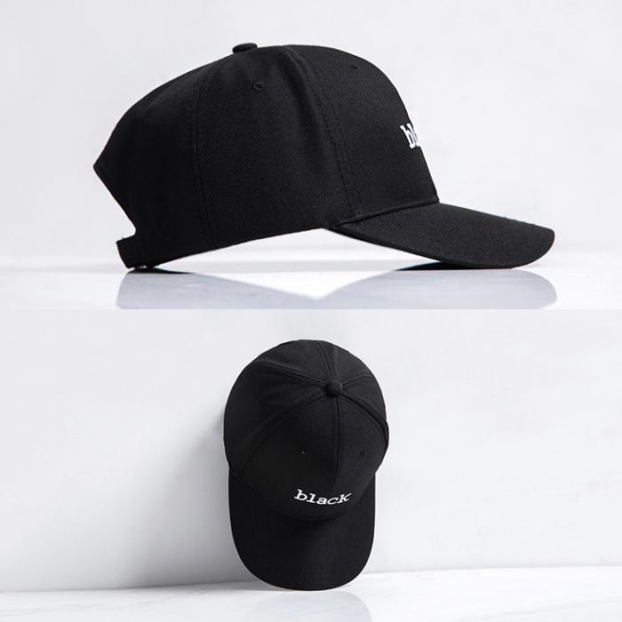 99304 베이직 타이포 볼캡 (Black)