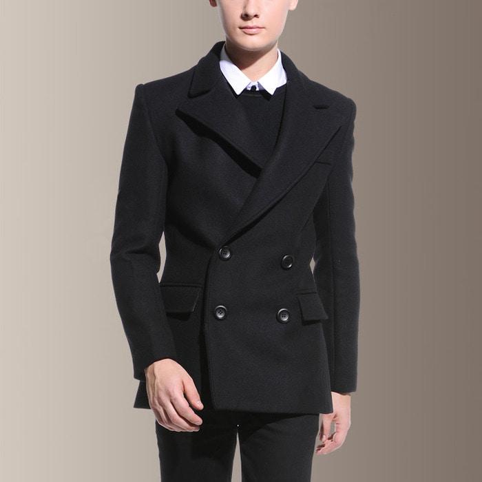 104087 클래식라인 베니싱 더블 자켓 (Black)