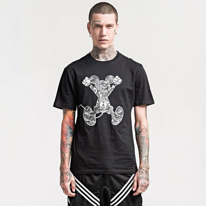 105162 MA 미키마우스 하프 티셔츠 (2Color)