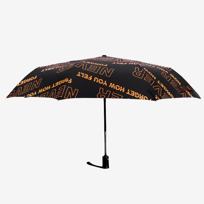 105699 유니크네버 레터링 패턴 우산 (2Color)