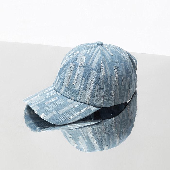 105713 고저스 엠브로이드 데님레인 볼 캡 (Blue)
