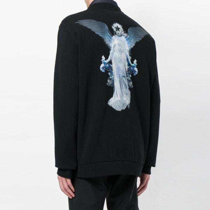 105959 GI 오퍼시티 스타엔젤 포인트 맨투맨 티셔츠 (Black)