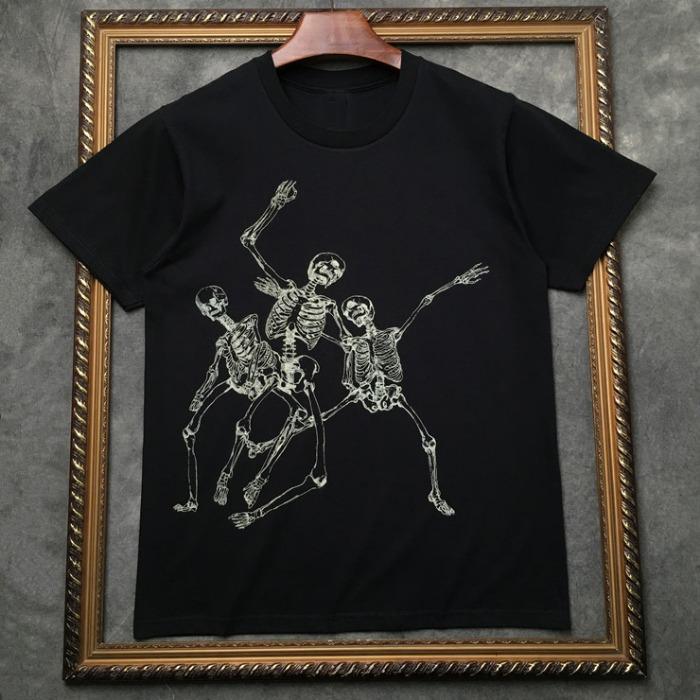 106941 AL 스컬랜드 스케치 포인트 하프 티셔츠 (2Color)