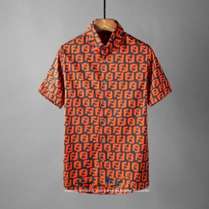 106846 FE 시그니처 로고 패턴포인트 하프 셔츠 (3Color)
