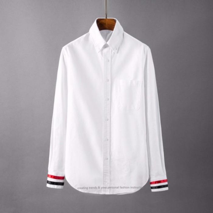 107119 TH 시메트릭 시그니처 컬러포인트 셔츠 (White)