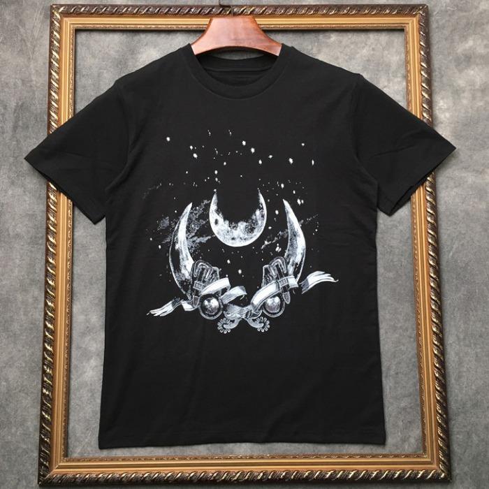 107299 GI 버팔로 벨티드 시메트릭 포인트 하프 티셔츠 (Black)