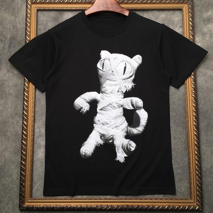 107309 유니크라인 미라주 프린팅 하프 티셔츠 (2Color)