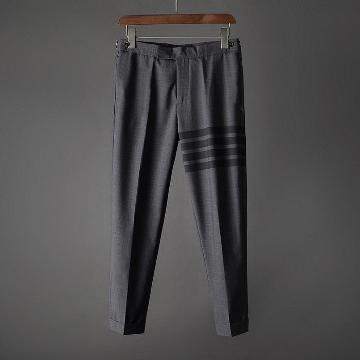 107452 시그니처 트랙라인 포인트 슬랙스 (Gray)