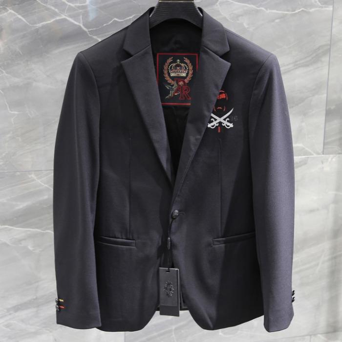 108157 로얄 프레데릭라인 데스엠브로이드 자켓 (Black)