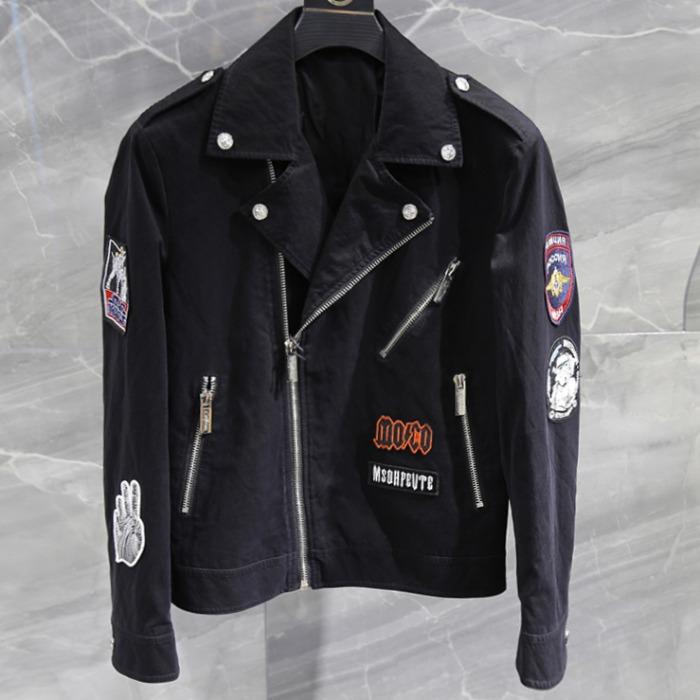 108129 유니크틱 베리어스 패치포인트 라이더 점퍼 (Black)