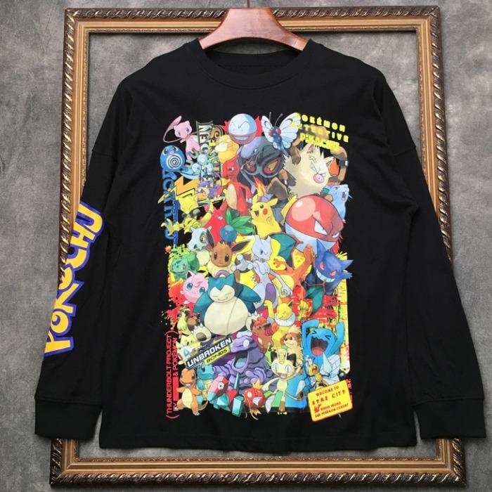 108312 스플렌디드 유니크라인 포켓몬 프린팅 티셔츠 (2Color)