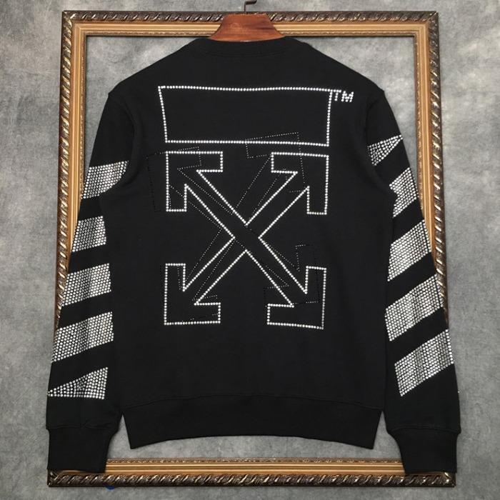 108296 시그니처 로고라인 비조포인트 맨투맨 티셔츠 (Black)