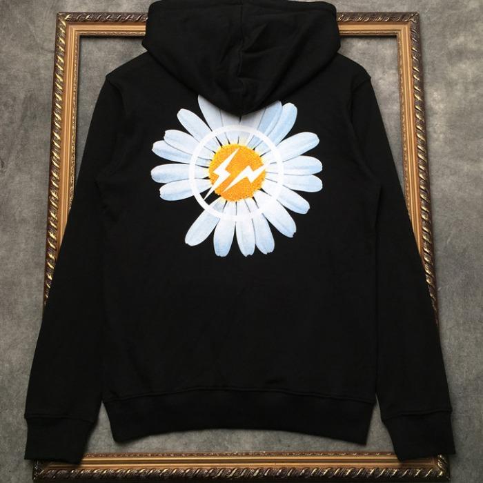 108331 시그니처 로고라인 포인트 후드 티셔츠 (Black)