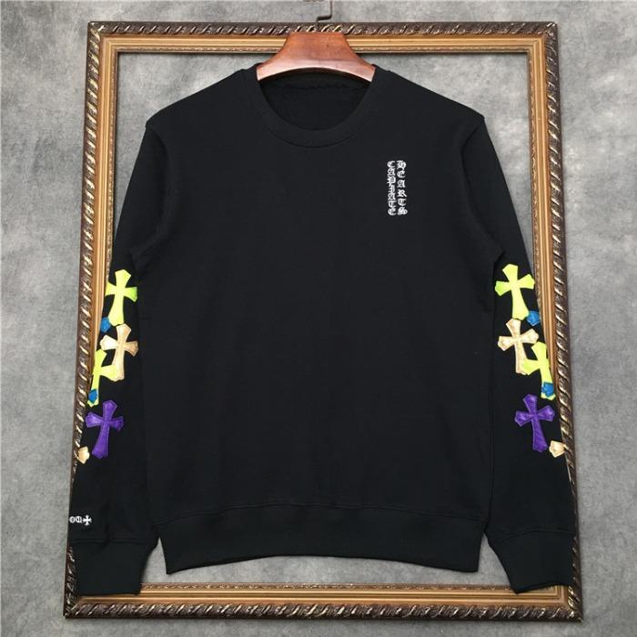 110362 소매 네온 크로스 라운드넥 맨투맨 티셔츠(2Color)