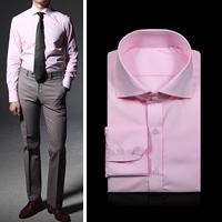 75049 프리미엄 미니멀리즘 베이직 셔츠 (Pink)