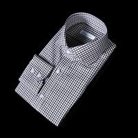 76141 No.55 프리미엄 건클럽 체크 패턴 셔츠 (Khaki)