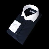 76152 No.66 프리미엄 클레릭 드레스 셔츠 (Navy)