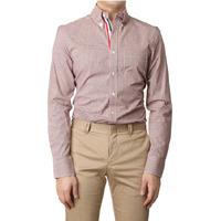 83596 프리미엄 잔체크 셔츠(Red/95,100,105)