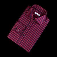 86383 No.42-a 프리미엄 깅엄 체크 셔츠 (Red)
