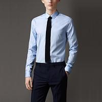 89016 프리미엄 솔리드 셔츠 (Sky Blue/2Type)