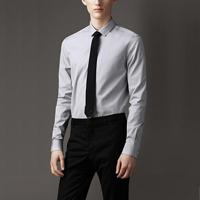 89018  프리미엄 솔리드 셔츠 (Gray/2Type)