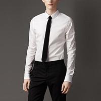 89021 프리미엄 솔리드 셔츠 (White/2Type)