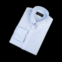 92177 No.07-B 하운드투스체크 칼라바 전용 셔츠 (Blue) -SIZE95-