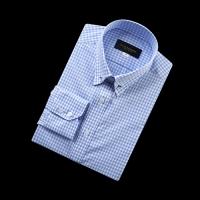 92169 No.05-B 깅엄체크 칼라바 전용 셔츠 (Blue)