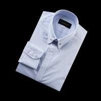 92175 No.06-B 핀체크 칼라바 전용 셔츠 (Blue)