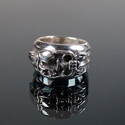 92708 CH 엔틱 나이프 반지 (Silver)