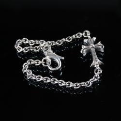 92735 CH 체인 십자가 팔찌 (Silver)