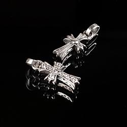 92756 CH 타이니 카인드 십자가 팬던트 (Silver)