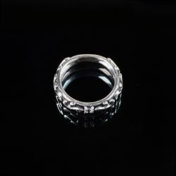 92760  기하학 범프 반지 (Silver)