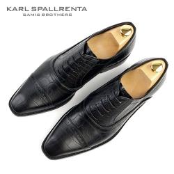 - KARL SPALLRENTA - 92879 악어패턴 프리미엄 슈즈 (Black)