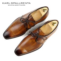 - KARL SPALLRENTA - 92881 파티나 프리미엄 슈즈 (Light Brown)