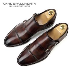 - KARL SPALLRENTA - 92882 파티나 프리미엄 슈즈 (Brown)