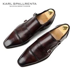 - KARL SPALLRENTA - 92883 파티나 프리미엄 슈즈 (Dark Brown)