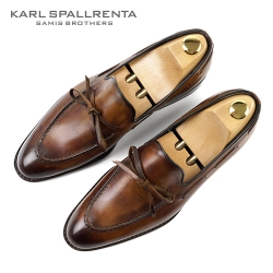 - KARL SPALLRENTA - 92885 파티나 프리미엄 슈즈 (Light Brown)