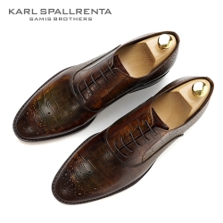 - KARL SPALLRENTA - 92887 파티나 프리미엄 슈즈 (Brown)