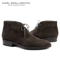 - KARL SPALLRENTA - 92890 스웨이드 데저트 부츠 (Dark Brown)