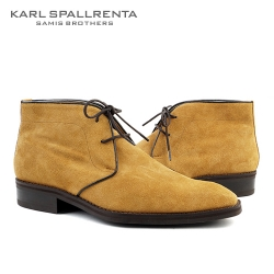 - KARL SPALLRENTA - 92891 스웨이드 데저트 부츠 (Light Brown)
